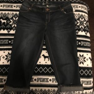 Lane Bryant genius fit Capri jeans